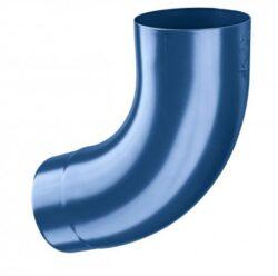 Koleno pozinkované modré  60/72 st. lisované