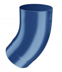 Koleno pozinkované modré 100/40 st. lisované