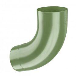 Koleno pozinkované trávově zelené120/72st. lisované