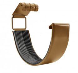 Spojka žlabu pozinkovaná metalická měděná 250 mm