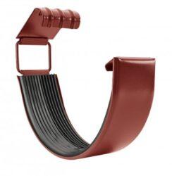 Spojka žlabu pozinkovaná ocelově červená 280 mm