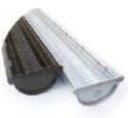 zachytávač listí okapový PVC  171 x 1000 mm , šedý(8574)