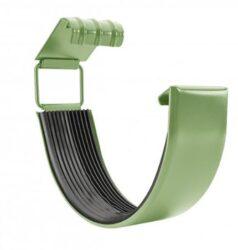 Spojka žlabu pozinkovaná trávově zelená 250 mm