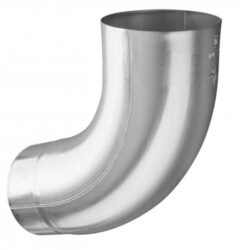 Koleno hliníkové přírodní  80 mm /72 st.