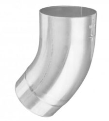 Koleno hliníkové přírodní 100 mm /40 st.