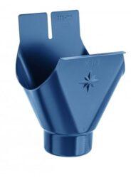 Kotlík pozinkovaný modrý 330/ 80 mm lisovaný